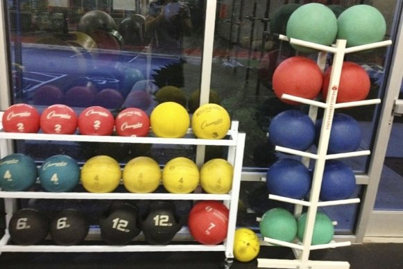 Medicine balls from Athletic Lab fitness and sport performance training facility