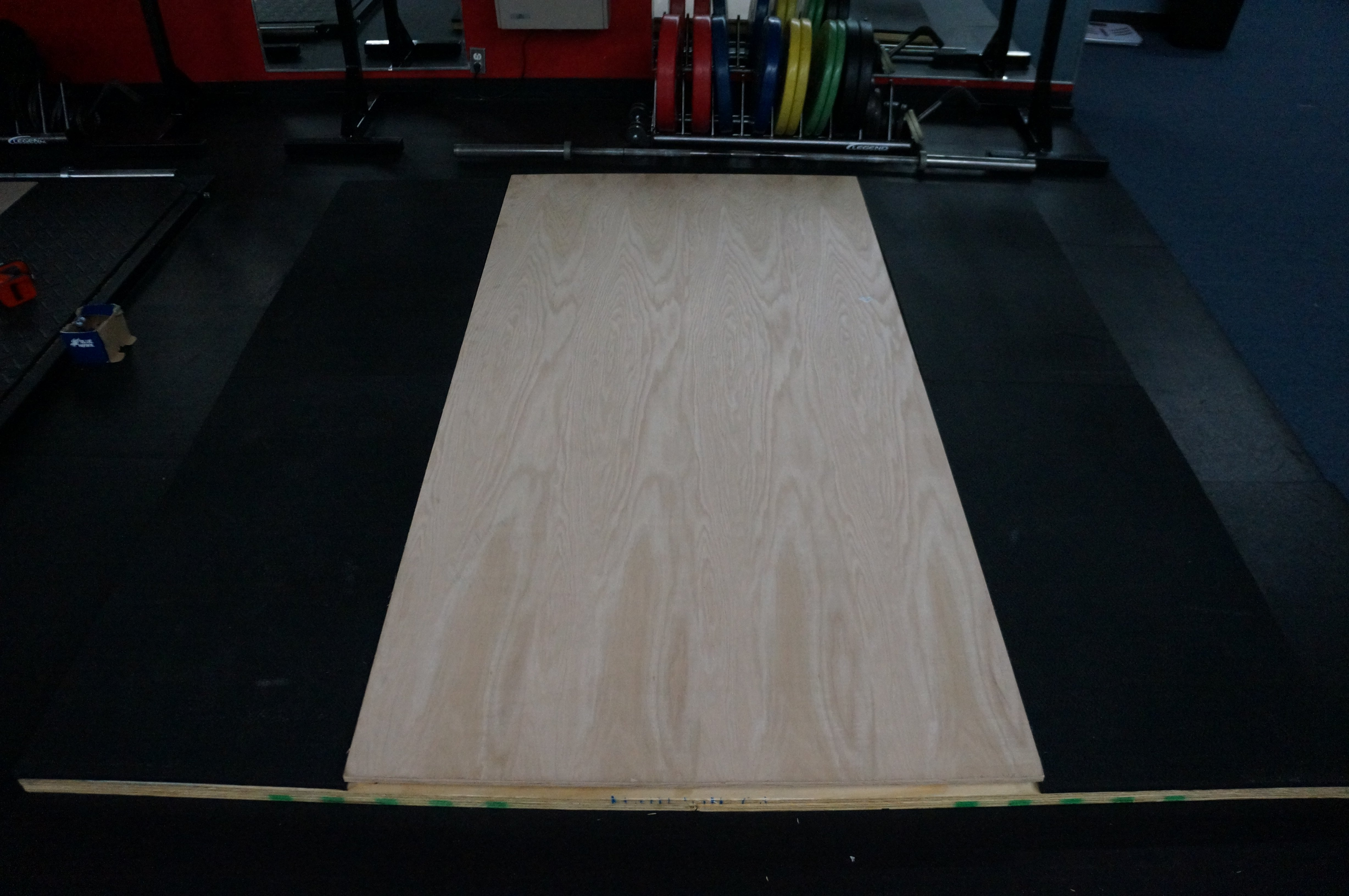 How To Build A Weightlifting Platform Athletic Lab