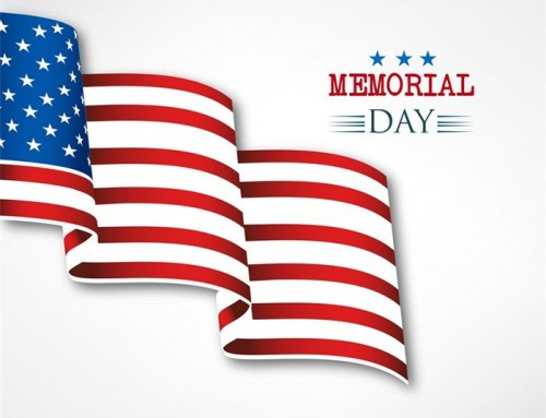 2016 Memorial Day Schedule