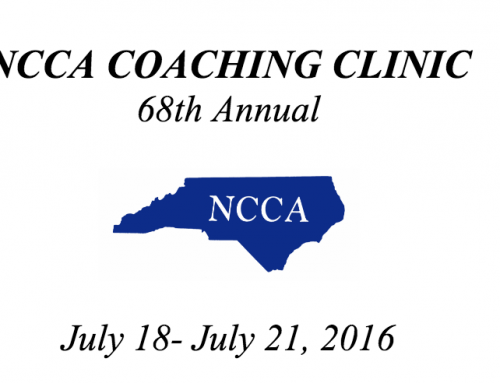 Athletic Lab's Mike Young & John Grace lecture at the North Carolina Coaches Association Clinic
