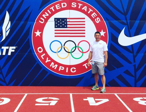 Athletic Lab's Mike Young provides sports science at Track & Field Olympic Trials