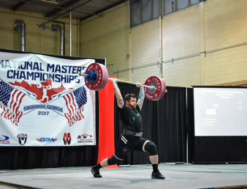 James Gold wins Weightlifting Gold at Masters Pan Am Championships