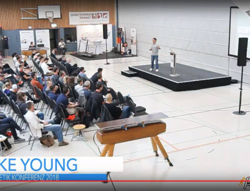 Athletic Lab's Mike Young presents at Athletik Konferenz in Germany