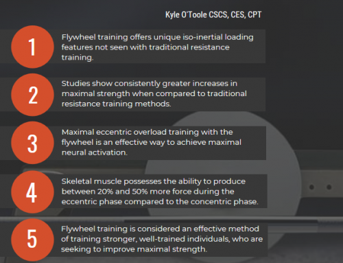 5 Reasons you should be Flywheel Training [Infographic] by Kyle O'Toole
