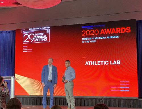 Athletic Lab recognized as Morrisville Small Business of the Year