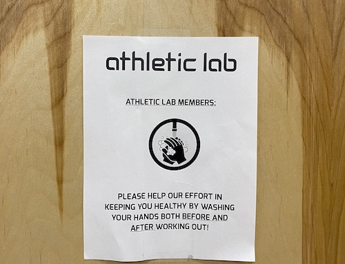 Athletic Lab COVID-19 Update [3.18.20]