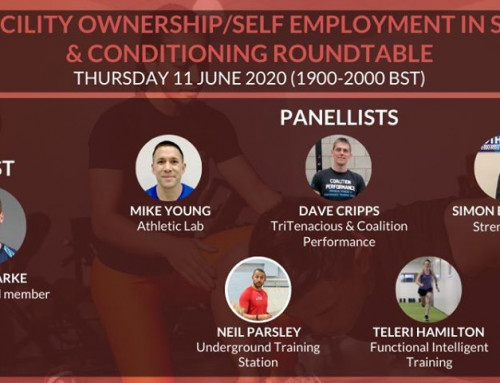 Mike Young presents at UKSCA Roundtable